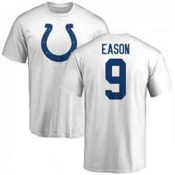 Youth Jacob Eason Indianapolis Colts Name & Number Logo T-Shirt - White