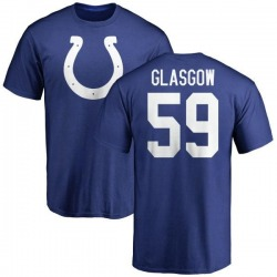 Youth Jordan Glasgow Indianapolis Colts Name & Number Logo T-Shirt - Royal